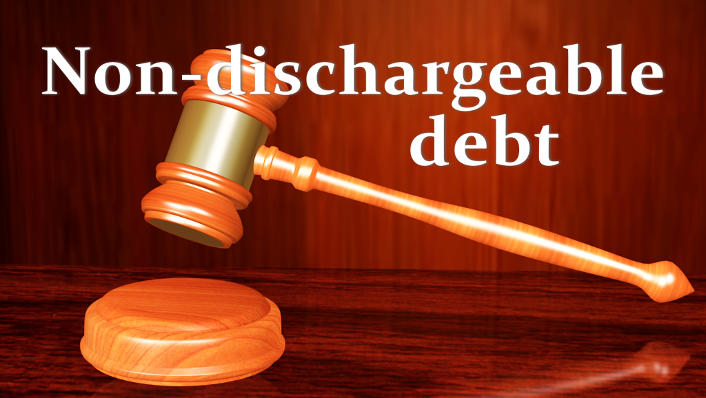 Non-Dischargeable Debt