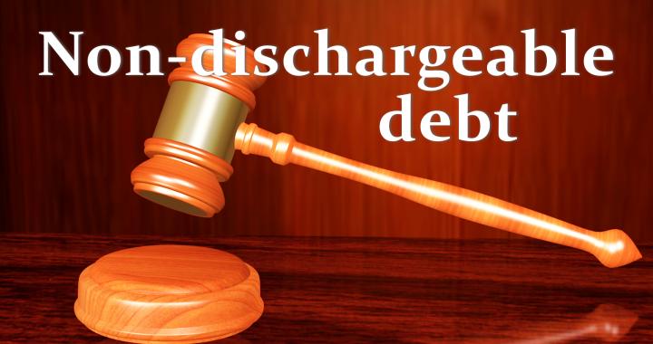 Non-Dischargeable Debt