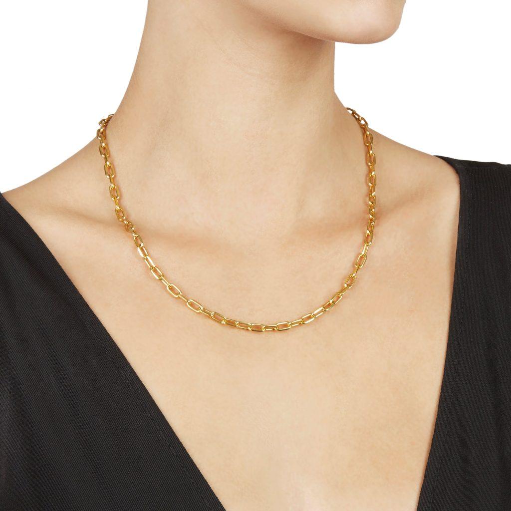 Mondera Yellow Gold Necklaces 2